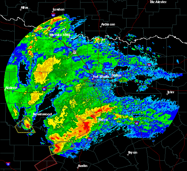 Radar Image for Severe Thunderstorms near Penelope, TX at 4/12/2020 4:54 AM CDT