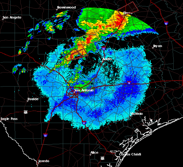 Radar Image for Severe Thunderstorms near Granite Shoals, TX at 4/12/2020 5:11 AM CDT