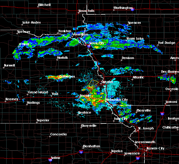 Radar Image for Severe Thunderstorms near Omaha, NE at 4/12/2020 5:47 AM CDT