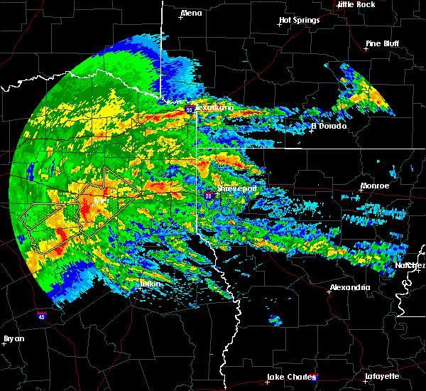 Radar Image for Severe Thunderstorms near Noonday, TX at 4/12/2020 7:15 AM CDT