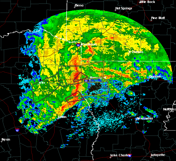 Radar Image for Severe Thunderstorms near Belmont, LA at 4/12/2020 9:23 AM CDT