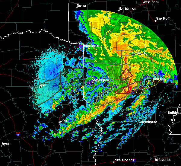 Radar Image for Severe Thunderstorms near Dubach, LA at 4/12/2020 10:59 AM CDT