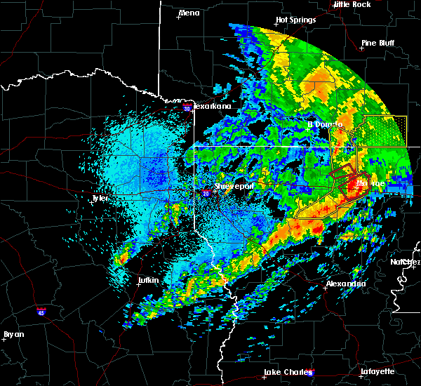 Radar Image for Severe Thunderstorms near Claiborne, LA at 4/12/2020 11:42 AM CDT
