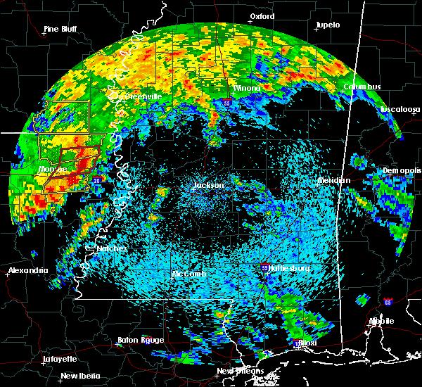 Radar Image for Severe Thunderstorms near Lake Providence, LA at 4/12/2020 12:19 PM CDT