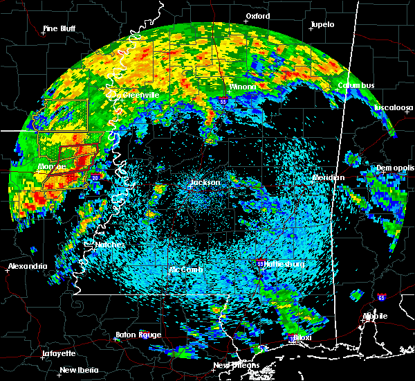 Radar Image for Severe Thunderstorms near Epps, LA at 4/12/2020 12:20 PM CDT