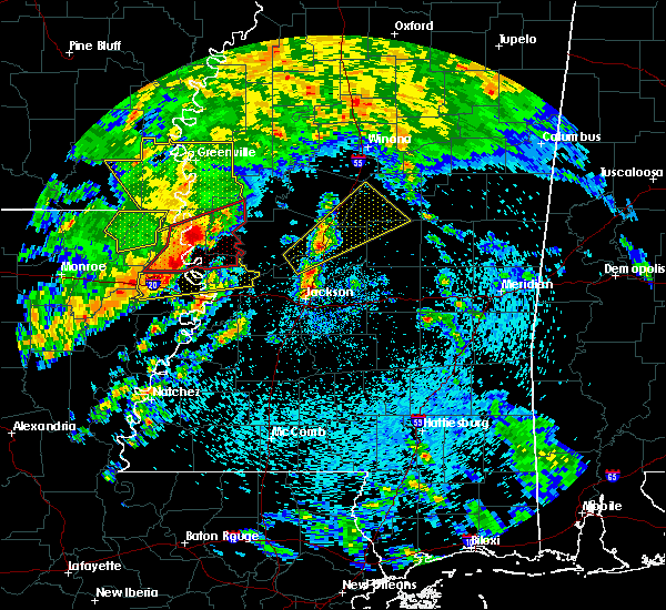 Radar Image for Severe Thunderstorms near Lake Providence, LA at 4/12/2020 12:45 PM CDT