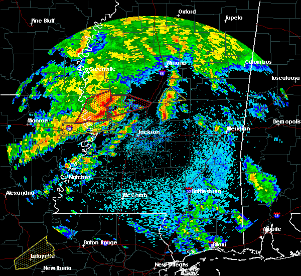 Radar Image for Severe Thunderstorms near Pearl River, MS at 4/12/2020 1:09 PM CDT