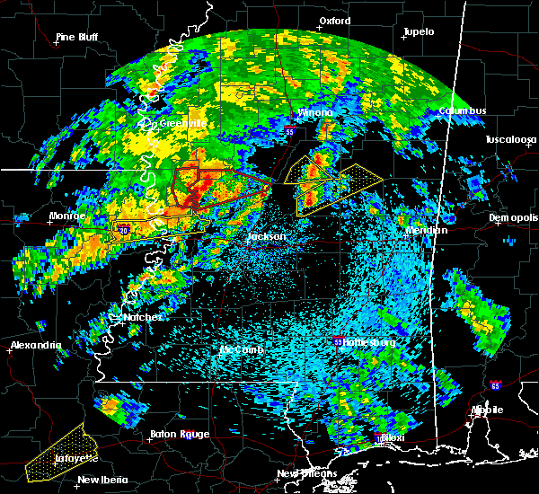 Radar Image for Severe Thunderstorms near Pearl River, MS at 4/12/2020 1:23 PM CDT