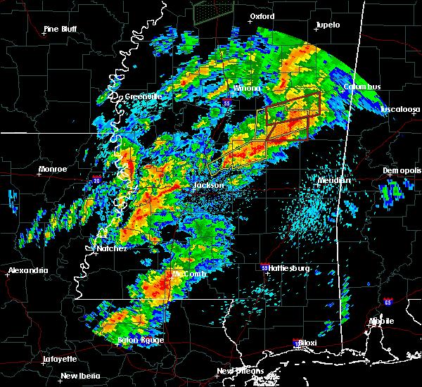 Radar Image for Severe Thunderstorms near Ridgeland, MS at 4/12/2020 3:07 PM CDT