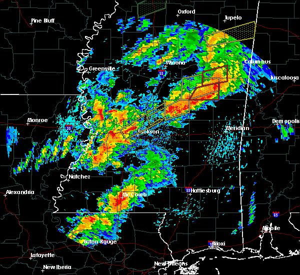 Radar Image for Severe Thunderstorms near Ridgeland, MS at 4/12/2020 3:21 PM CDT