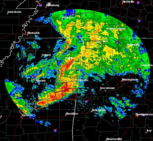 Radar Image for Severe Thunderstorms near Ethelsville, AL at 4/12/2020 3:29 PM CDT
