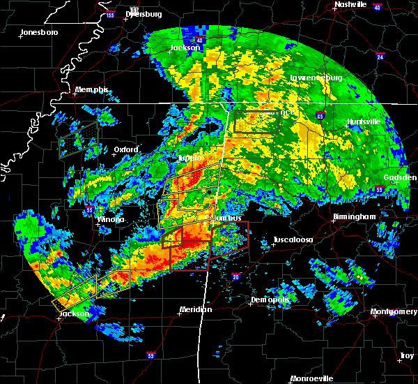 Radar Image for Severe Thunderstorms near Detroit, AL at 4/12/2020 3:36 PM CDT