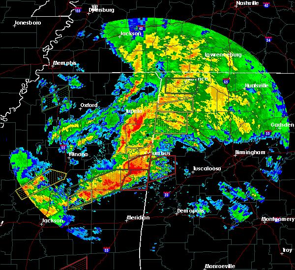 Radar Image for Severe Thunderstorms near Detroit, AL at 4/12/2020 3:48 PM CDT