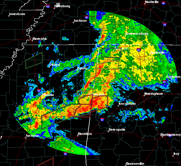 Radar Image for Severe Thunderstorms near Ethelsville, AL at 4/12/2020 3:57 PM CDT