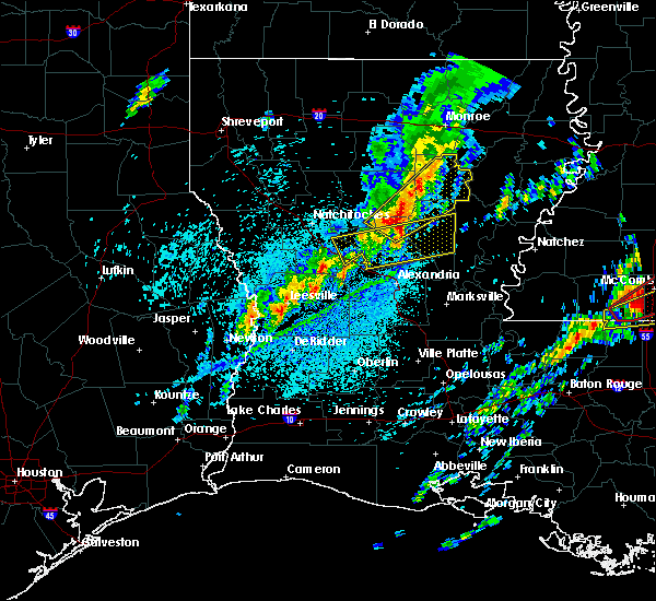 Radar Image for Severe Thunderstorms near Urania, LA at 4/12/2020 4:02 PM CDT