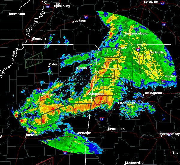 Radar Image for Severe Thunderstorms near Pickensville, AL at 4/12/2020 4:13 PM CDT