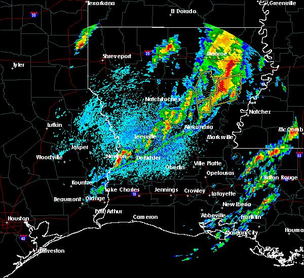 Radar Image for Severe Thunderstorms near Clarks, LA at 4/12/2020 4:44 PM CDT