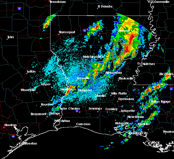 Radar Image for Severe Thunderstorms near Midway, LA at 4/12/2020 4:44 PM CDT
