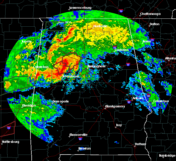 Radar Image for Severe Thunderstorms near Berry, AL at 4/12/2020 4:47 PM CDT