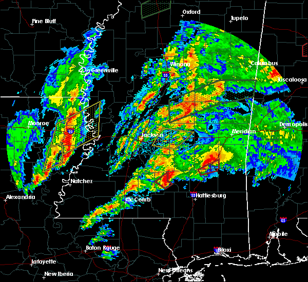 Radar Image for Severe Thunderstorms near Robinhood, MS at 4/12/2020 5:10 PM CDT