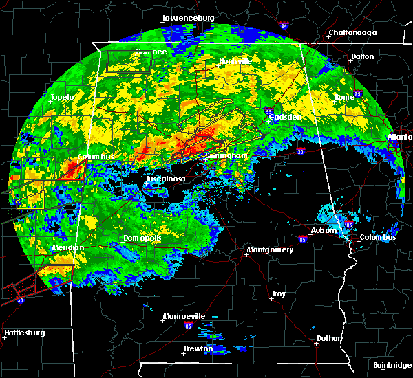 Radar Image for Severe Thunderstorms near Snead, AL at 4/12/2020 5:34 PM CDT