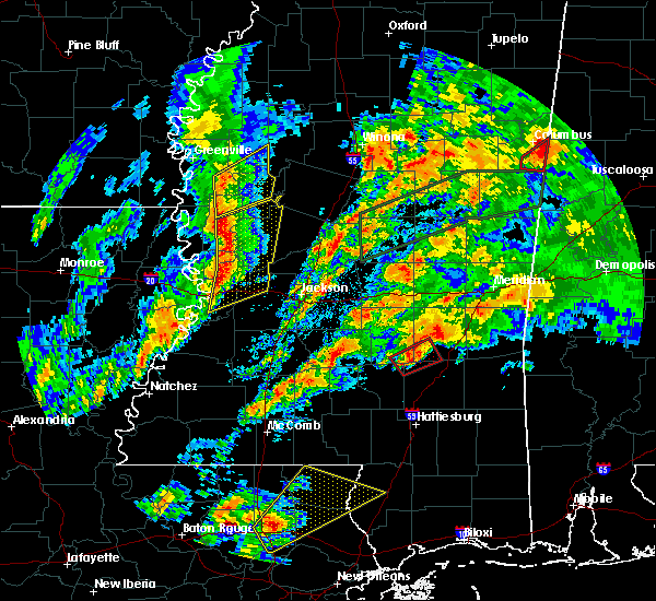 Radar Image for Severe Thunderstorms near Bay Springs, MS at 4/12/2020 5:42 PM CDT