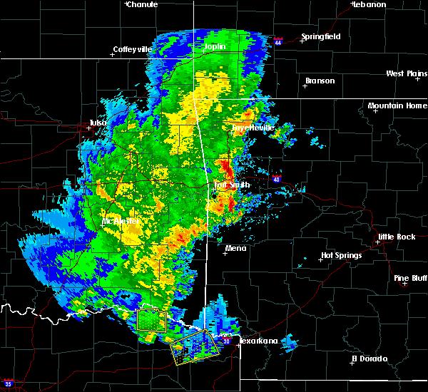 Radar Image for Severe Thunderstorms near Magazine, AR at 4/12/2020 5:47 PM CDT