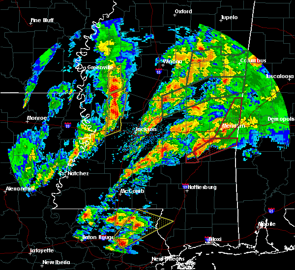 Radar Image for Severe Thunderstorms near Sylvarena, MS at 4/12/2020 6:03 PM CDT