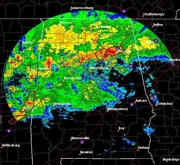 Radar Image for Severe Thunderstorms near Snead, AL at 4/12/2020 6:09 PM CDT