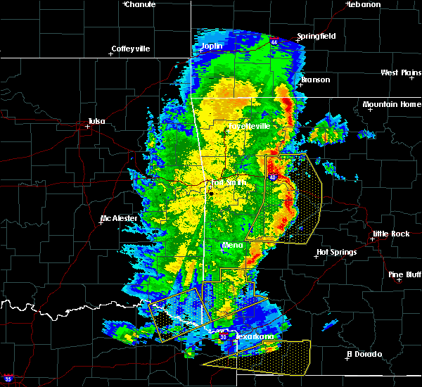 Radar Image for Severe Thunderstorms near Piney, AR at 4/12/2020 6:41 PM CDT