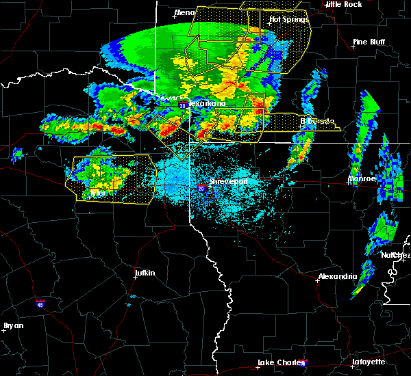 Radar Image for Severe Thunderstorms near Bradley, AR at 4/12/2020 7:21 PM CDT