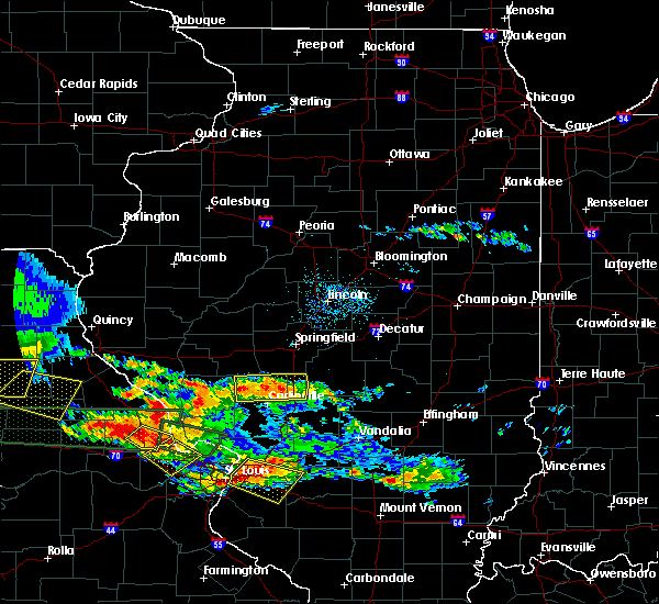 Radar Image for Severe Thunderstorms near Taylorville, IL at 6/25/2015 7:44 PM CDT