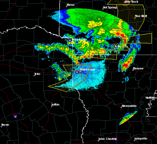 Radar Image for Severe Thunderstorms near Claiborne, LA at 4/12/2020 8:07 PM CDT
