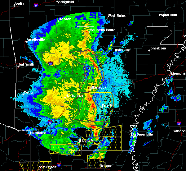 Radar Image for Severe Thunderstorms near Clinton, AR at 4/12/2020 8:14 PM CDT