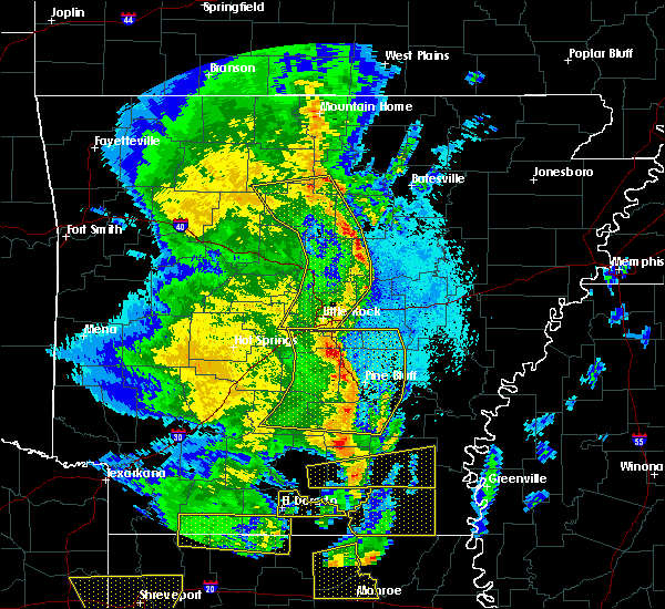 Radar Image for Severe Thunderstorms near White Hall, AR at 4/12/2020 8:18 PM CDT