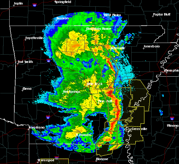 Radar Image for Severe Thunderstorms near Amagon, AR at 4/12/2020 8:56 PM CDT
