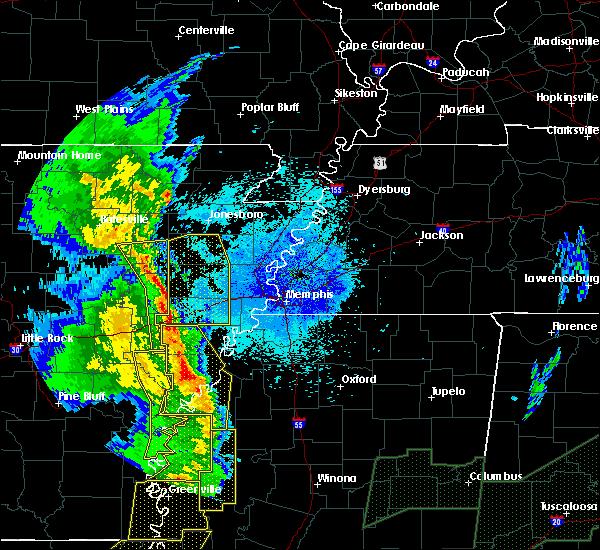 Radar Image for Severe Thunderstorms near Elaine, AR at 4/12/2020 9:34 PM CDT