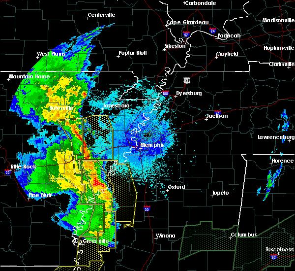 Radar Image for Severe Thunderstorms near Elaine, AR at 4/12/2020 9:39 PM CDT
