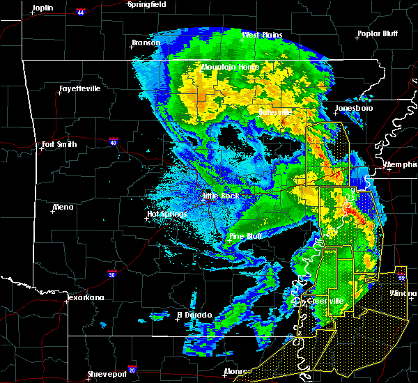 Radar Image for Severe Thunderstorms near Boyle, MS at 4/12/2020 9:54 PM CDT