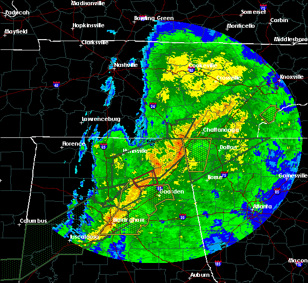 Radar Image for Severe Thunderstorms near New Union, AL at 4/12/2020 10:02 PM CDT
