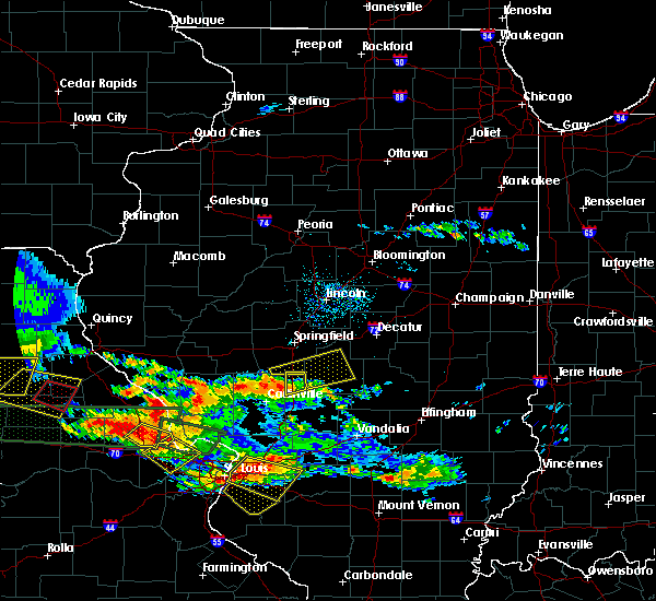 Radar Image for Severe Thunderstorms near Taylorville, IL at 6/25/2015 7:59 PM CDT