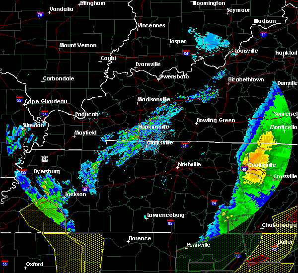 Radar Image for Severe Thunderstorms near Decaturville, TN at 4/12/2020 11:12 PM CDT