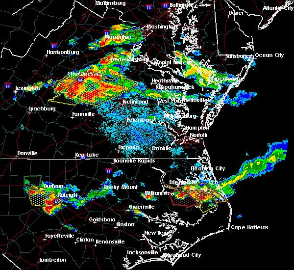 Radar Image for Severe Thunderstorms near Yogaville, VA at 6/25/2015 8:58 PM EDT