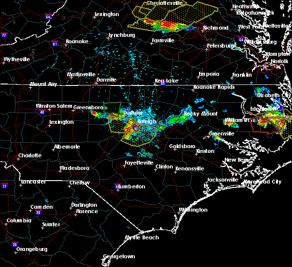 Radar Image for Severe Thunderstorms near Durham, NC at 6/25/2015 9:02 PM EDT