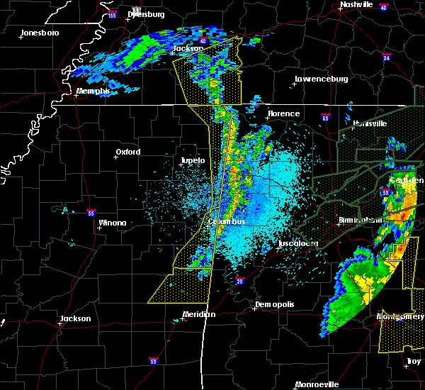 Radar Image for Severe Thunderstorms near Pickensville, AL at 4/12/2020 11:47 PM CDT