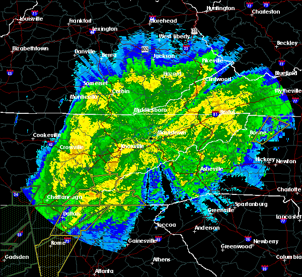 Radar Image for Severe Thunderstorms near Marble, NC at 4/13/2020 12:54 AM EDT
