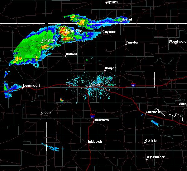 Radar Image for Severe Thunderstorms near Boise City, OK at 6/25/2015 8:09 PM CDT