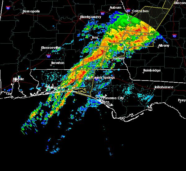Radar Image for Severe Thunderstorms near Destin, FL at 4/13/2020 1:58 AM CDT