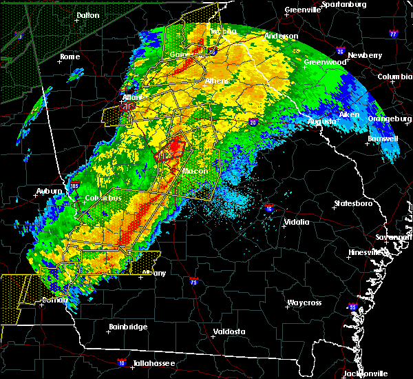 Radar Image for Severe Thunderstorms near Vienna, GA at 4/13/2020 3:04 AM EDT