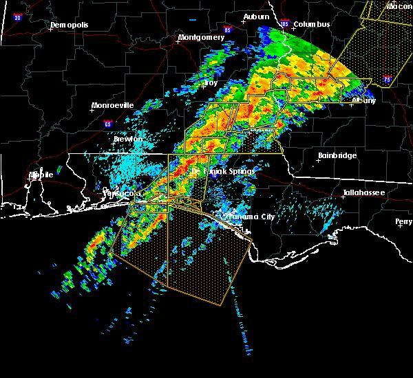 Radar Image for Severe Thunderstorms near Destin, FL at 4/13/2020 2:21 AM CDT